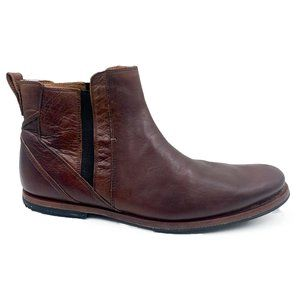 Timberland Leather Pull On Chelsea Ankle Boots